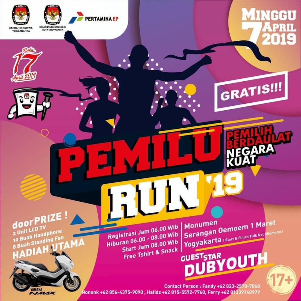 Pemilu Run - Yogyakarta • 2019