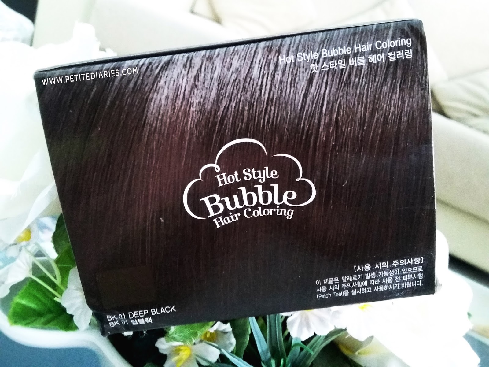 etude house hot style bubble deep black review
