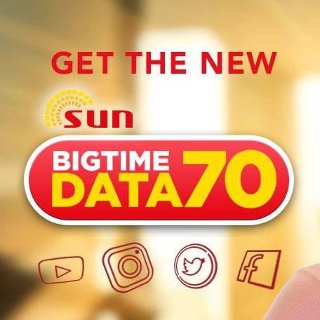 Sun Big Time Data 70