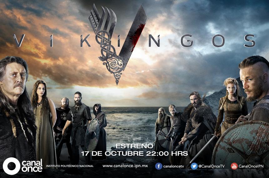 """Canal Once transmitirá la serie histórica """"Vikingos"""", una producción"""