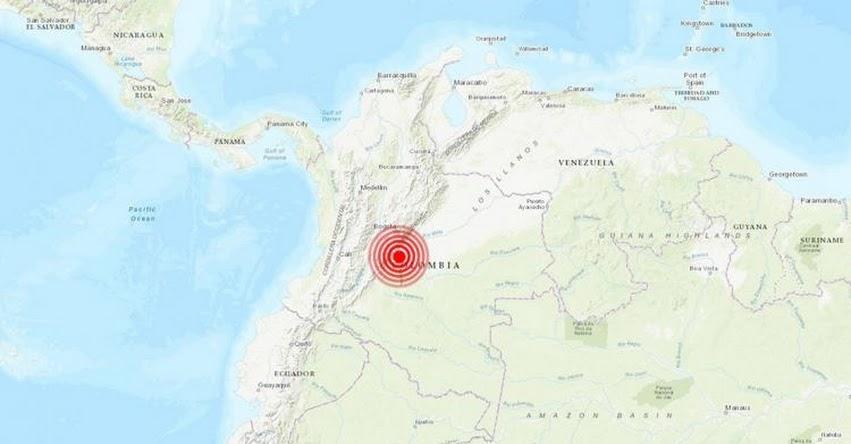 Temblor en Colombia de Magnitud 4.8 (Hoy Miércoles 25 Diciembre 2019) Terremoto - Sismo - Epicentro - Mesetas - Meta - En Vivo Twitter - Facebook - www.sgc.gov.co