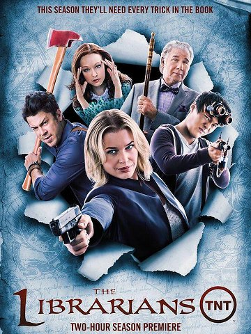 The Librarians saison 2 en français
