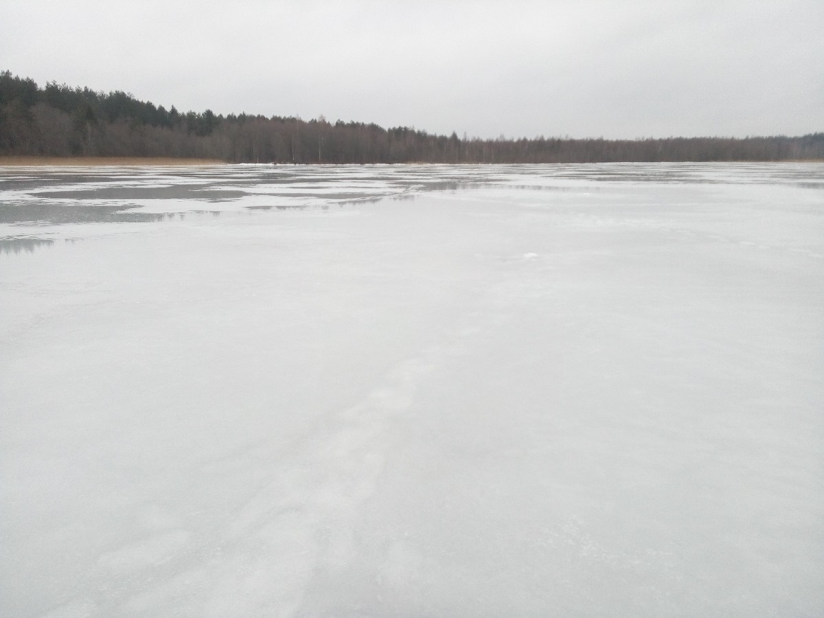 озеро Теклиц 1 апреля