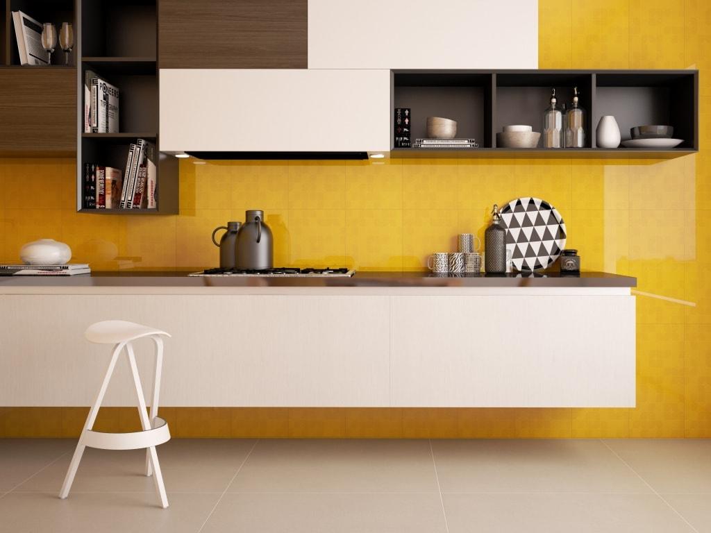 Ideas de revestimientos para las paredes de la cocina for Colores paredes cocinas modernas