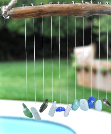 make sun catcher with bead thread