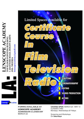 Lenscope Academy: Certificate Course for Film, Television and Radio in Jos Plateau State