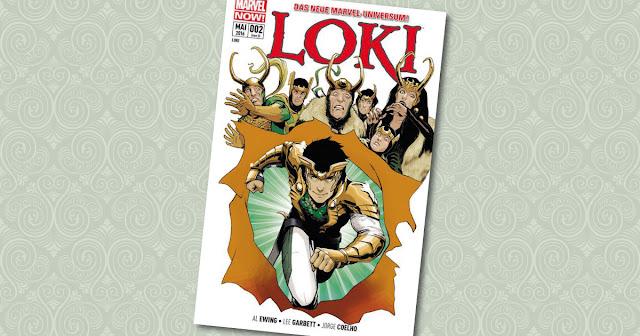 Loki Panini Cover