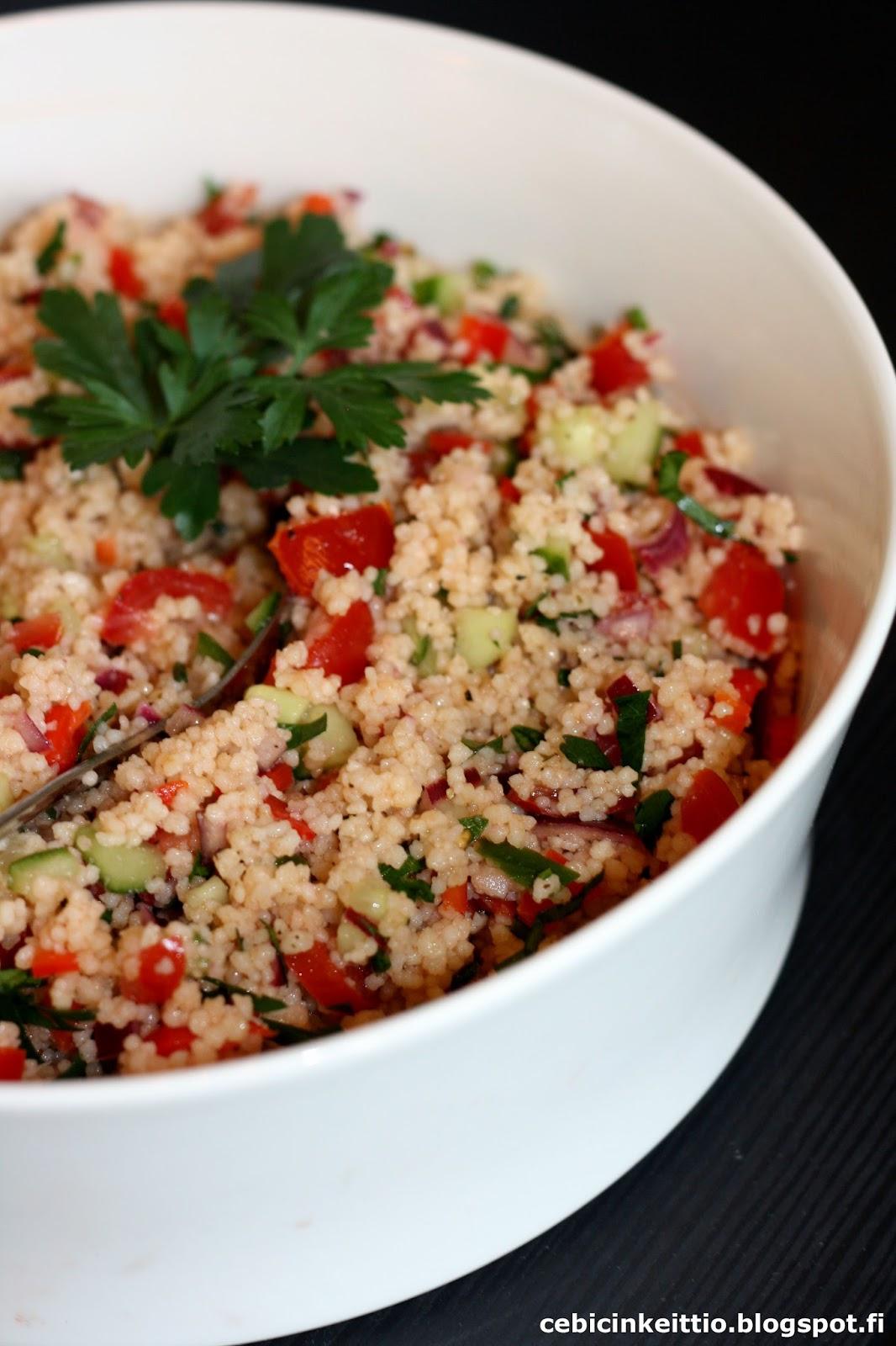 Couscous Salaatti Juhliin