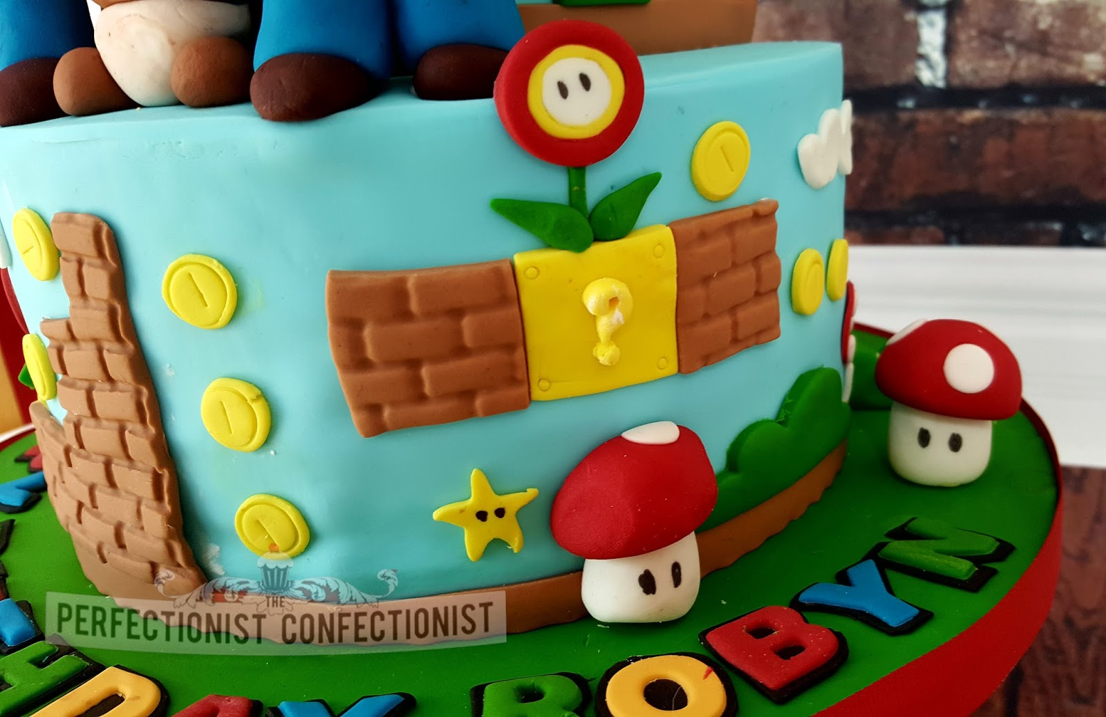 The Perfectionist Confectionist Robyn Super Mario Birthday Cake