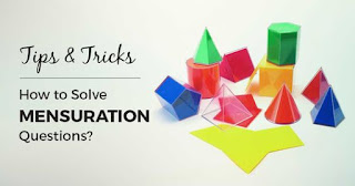 MATHS TRICK 2:- MANSURATION NOTE WITH SOLUTION AND SHORTCUT TRICKS