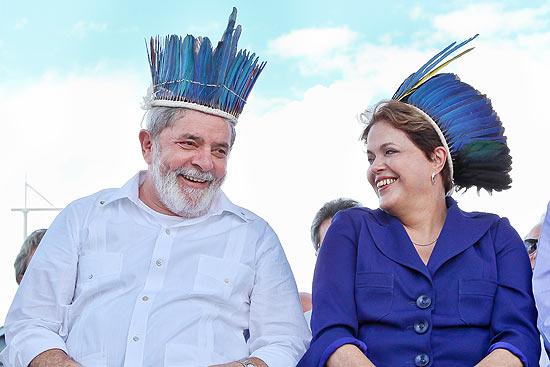 """Urgente: Dilma decreta que Lula é índio e não pode ser julgado pela Justiça da """"elite branca"""""""