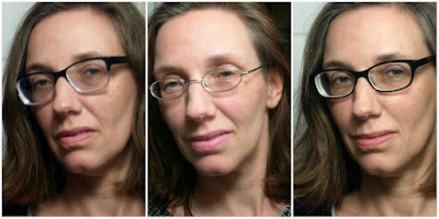 Drei Köpfe, sechs Brillengläser ...