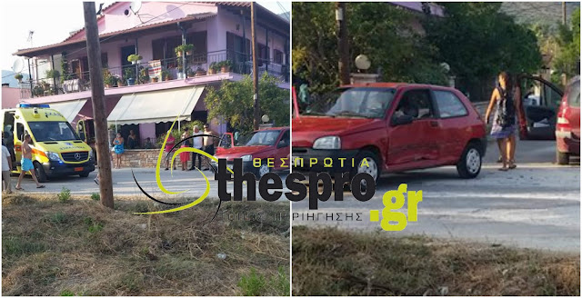 Τροχαίο ατύχημα πριν λίγο στην Πλαταριά (+ΦΩΤΟ)