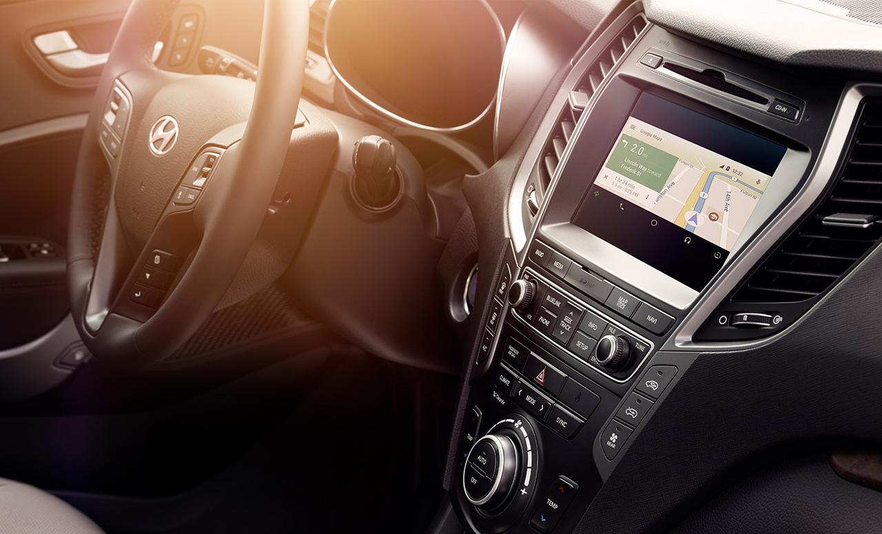 Nhiều tính năng, giải trí tốt nhất đang có trên Hyundai SantaFe 2017