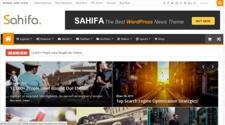 sahifa responsive wp theme free download