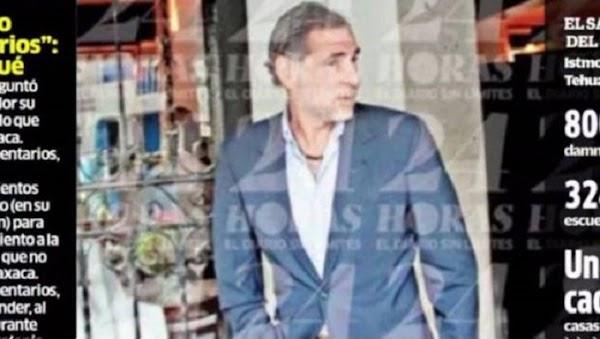 Ex gobernador de Oaxaca se pasea por la Condesa y no quiso enviar condolencias a los damnificados por el sismo