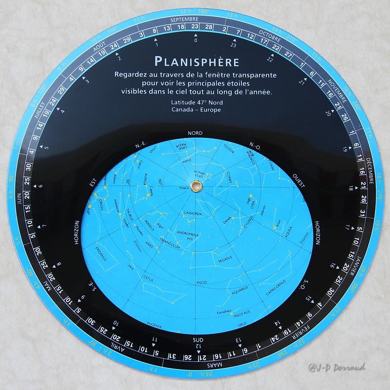 planisphere du ciel
