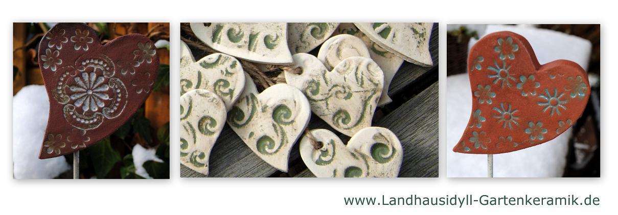 Gartendeko Blog Töpferanleitung Valentinsherz Aus Keramik
