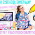 Back To School Supplies Haul + HUGE INTERNATIONAL GIVEAWAY
