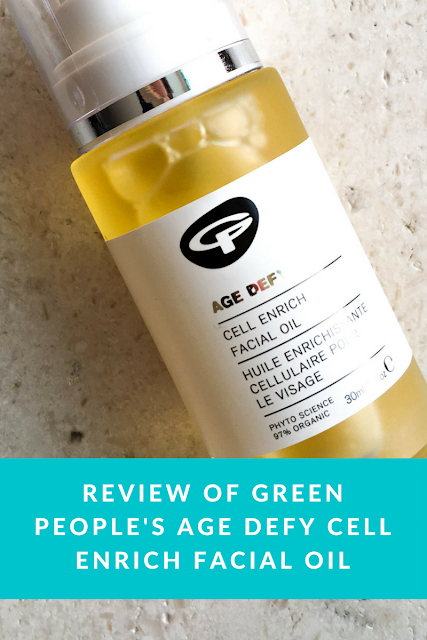 Review of Green People Age Defy Cell Enrich Facial Oil