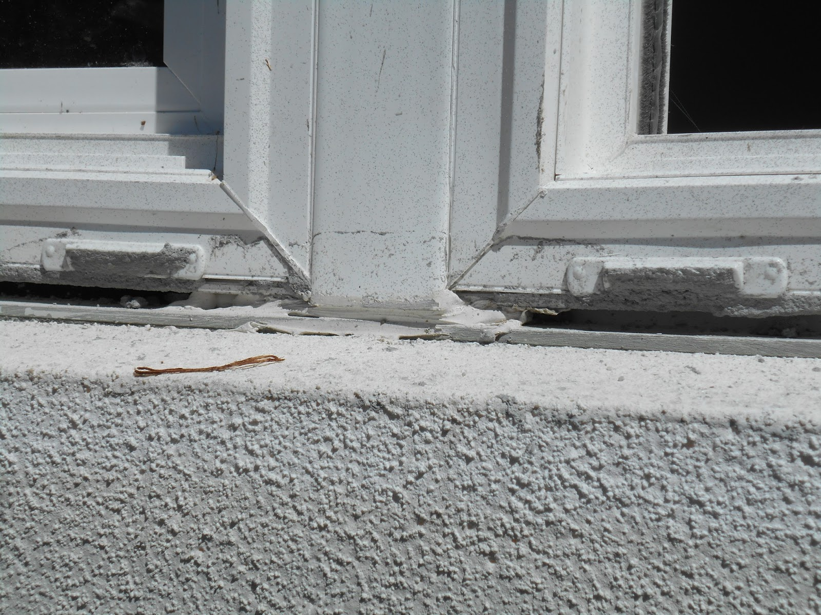 Little details like plugged weeps due to the stucco crew can lead to big, unexpected water damage events.