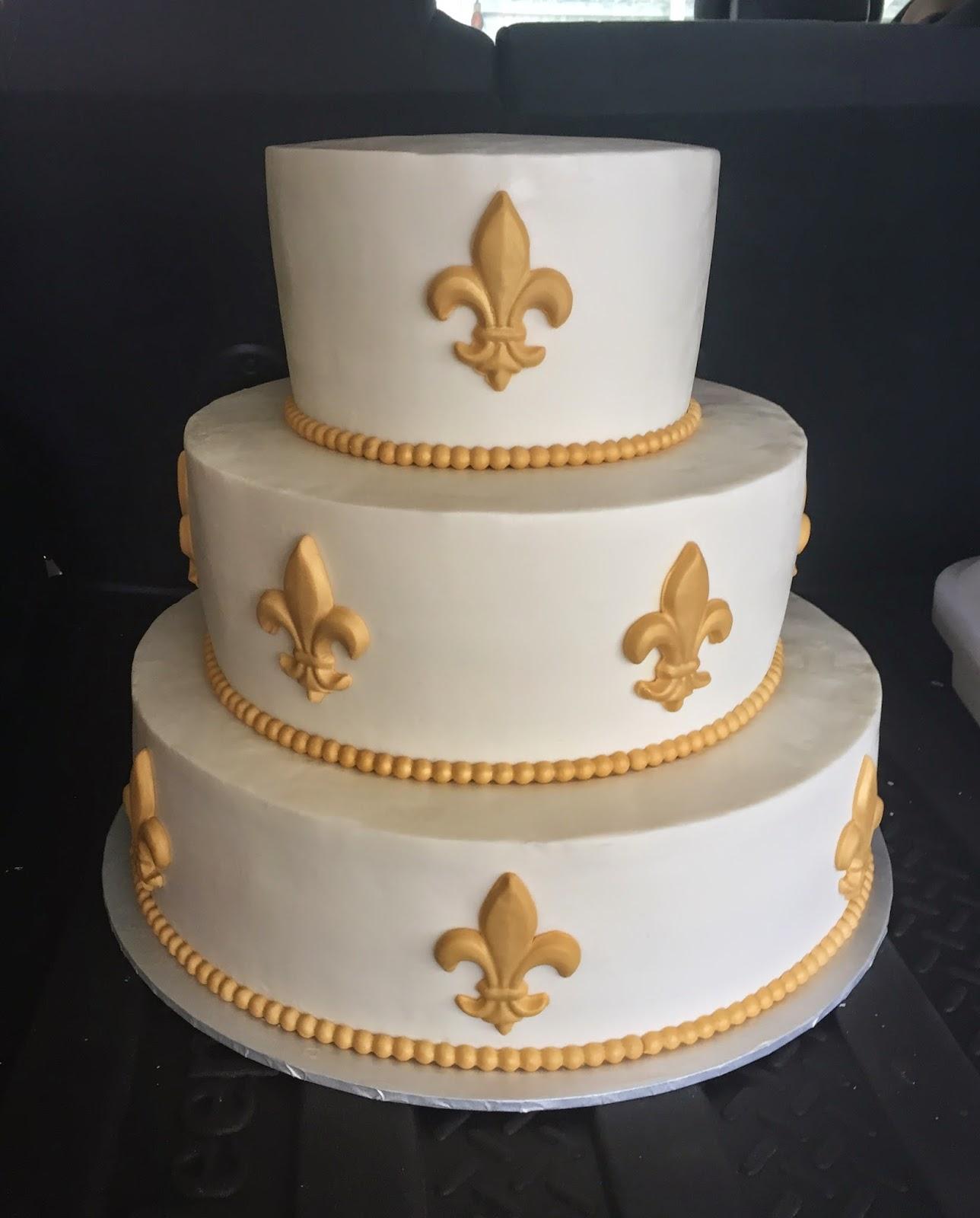 Gold Fleur De Lis Wedding Game 8 12 16