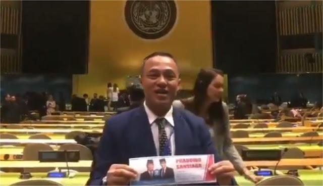 Dapat Dukungan di Markas PBB, Ini Tanggapan Sandiaga