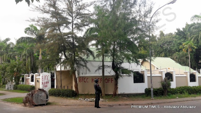 EFCC  Storms Maina's $2 Million Mansion.