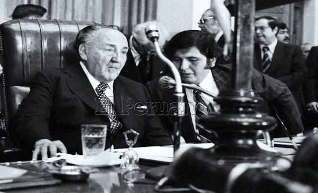 Víctor Raúl Haya y Alan García Pérez