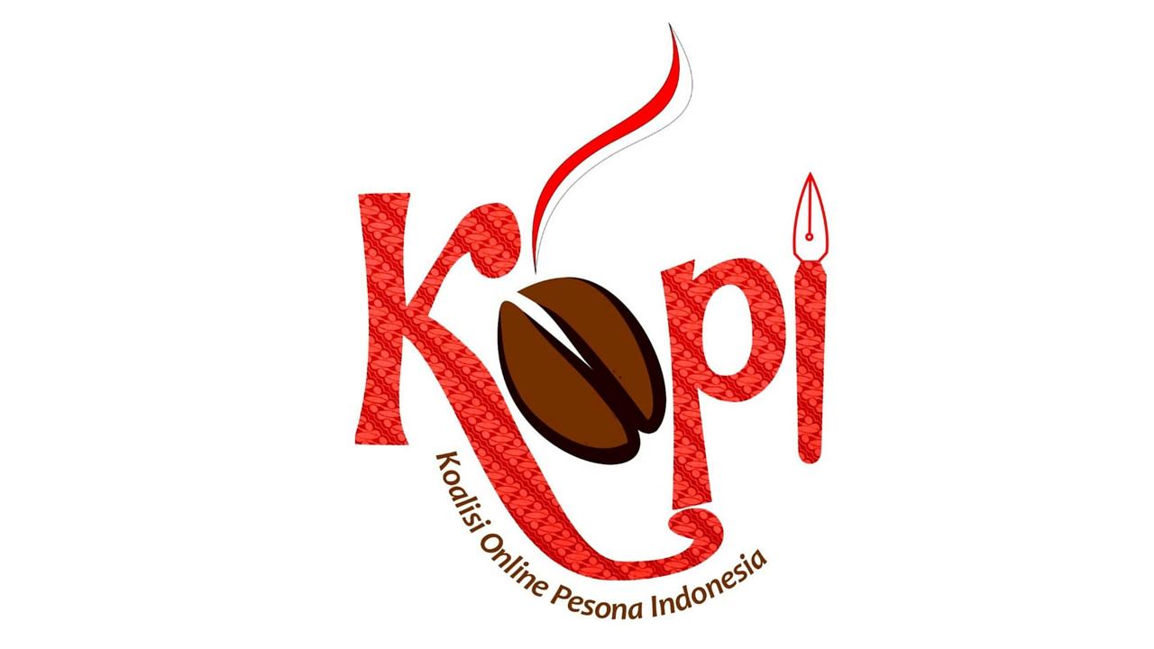 Logo Blogger KOPI Koalisi Online Pesona Indonesia