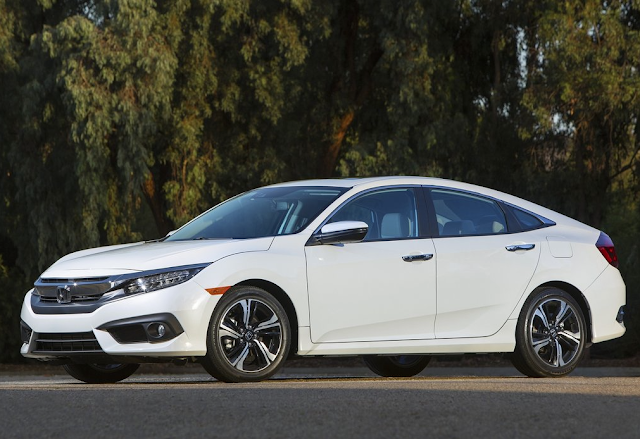 2016 Honda Civic white