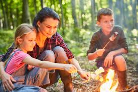 Enjoy a summer campfire with your family and friends