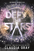 Defy the Stars by Claudia Gray book cover and review