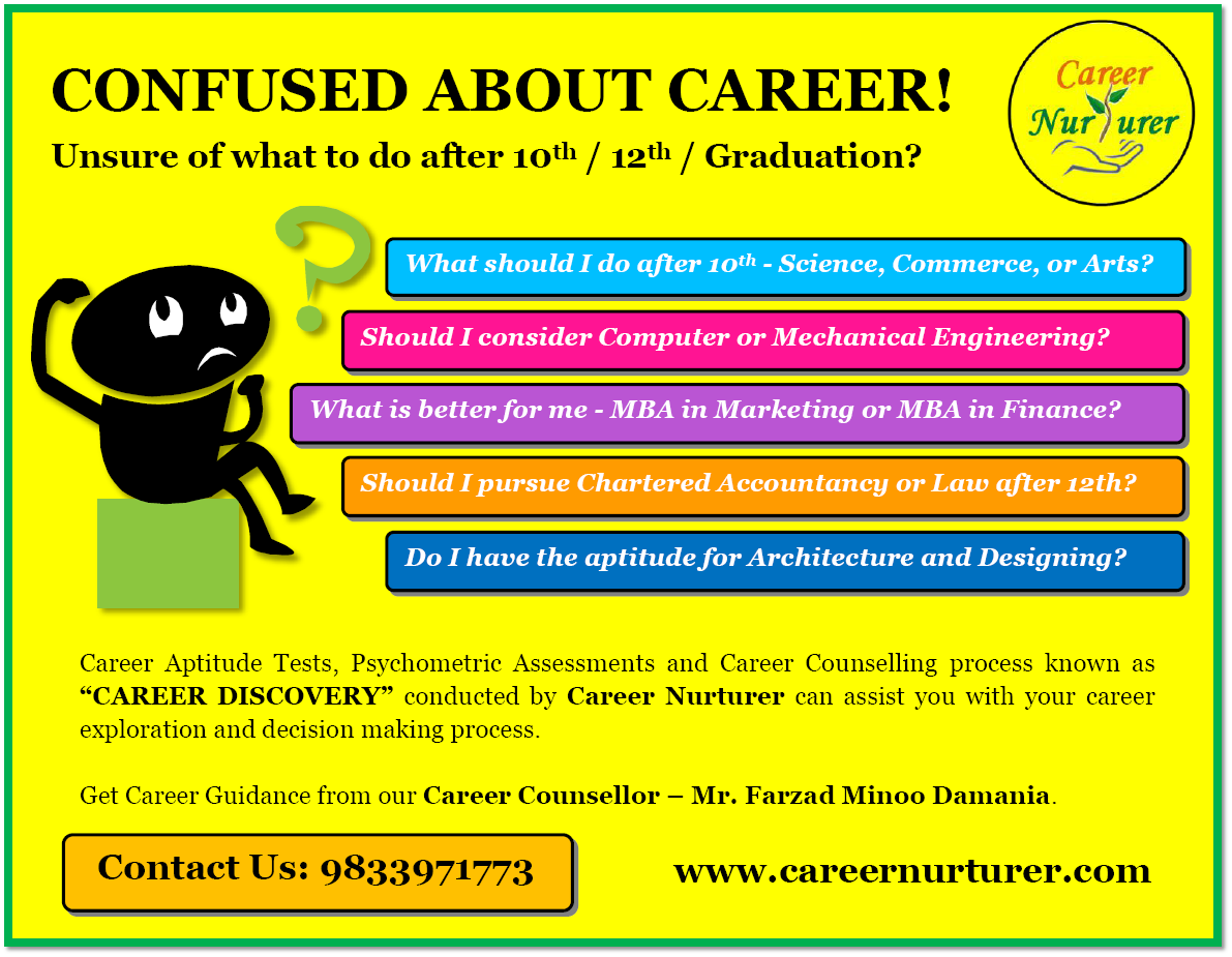 Career Guidance and Counselling in Mumbai Thane and Navi Mumbai by Farzad Minoo Damania Career Nurturer