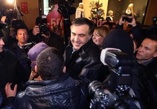 Ο πρώην πρόεδρος της Γεωργίας Μιχαήλ Σαακασβίλι
