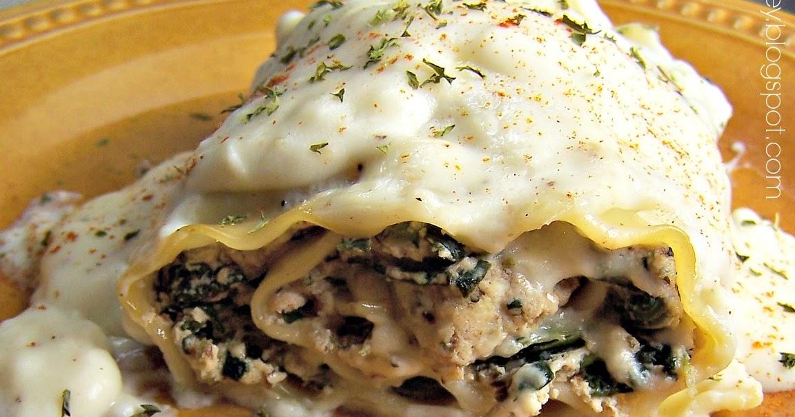 Olla-Podrida: Pesto Lasagna Roll Ups