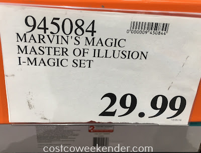 Deal for Marvin's Magic Master of Illusion iMagic Set at Costco