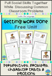 Pull social skills together with this free uit from Looks Like Language.