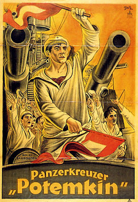 Potemkin film poster in German