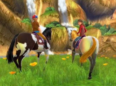 馬術俱樂部(The Saddle Club),經美的馬場養成模擬!