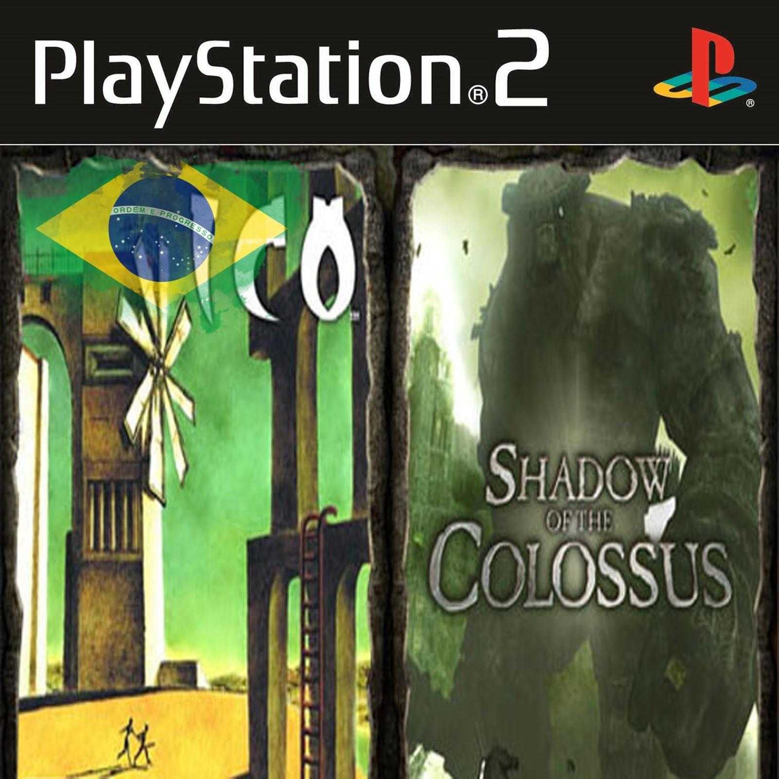 shadow of the colossus ps2 legendado