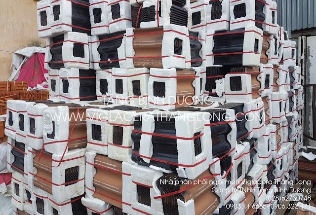 Ngói ceramic Thăng Long nhập tại kho Quận 12 TP. Hồ Chí Minh