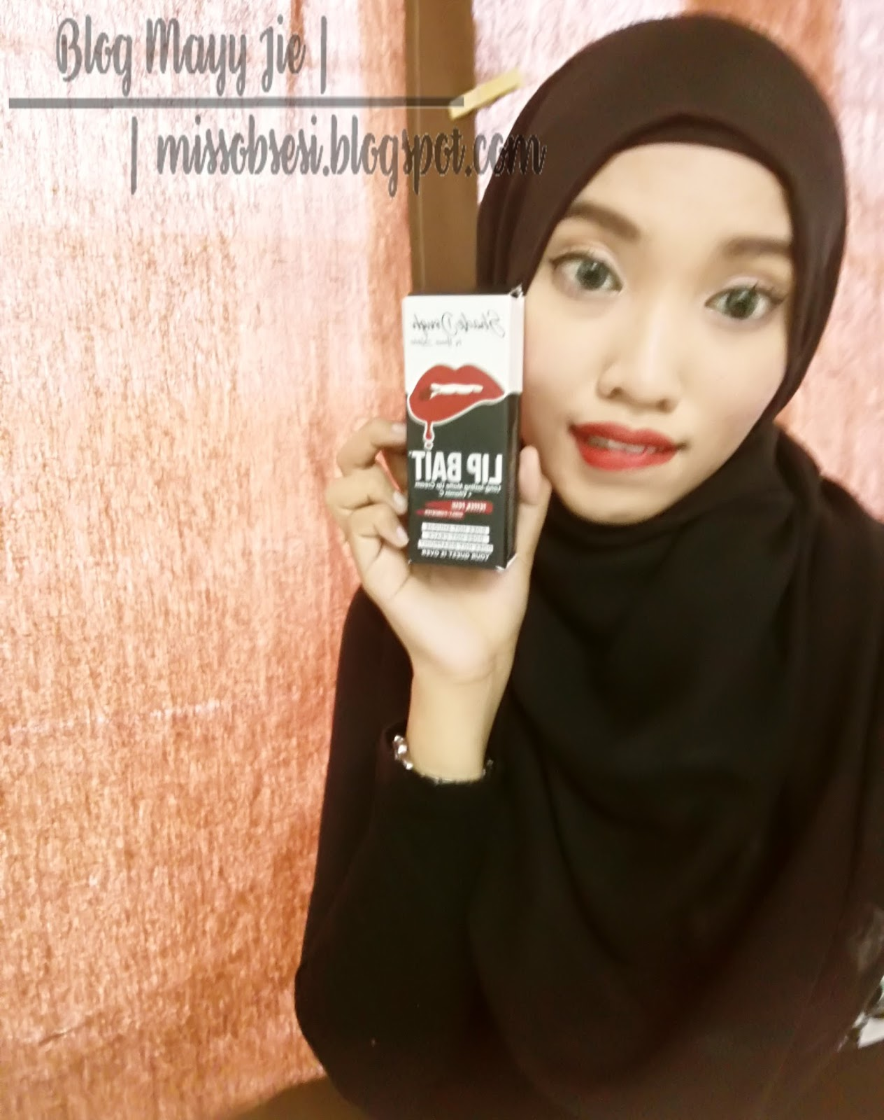 Lip Bait Shade Dough by Hanis Zalikha