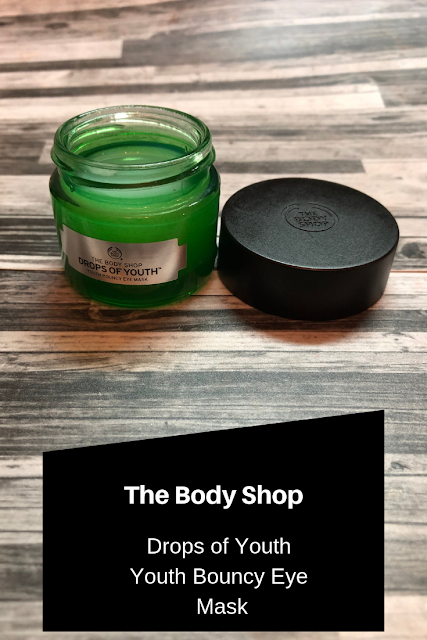 The Body Shop | Drops of Youth: Youth Bouncy Eye Mask Review