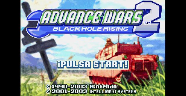 Advance Wars 2: Black Hole Rising - Español - Captura 2