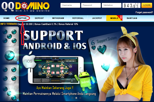 QQ Domino Judi Online Domino Terpercaya