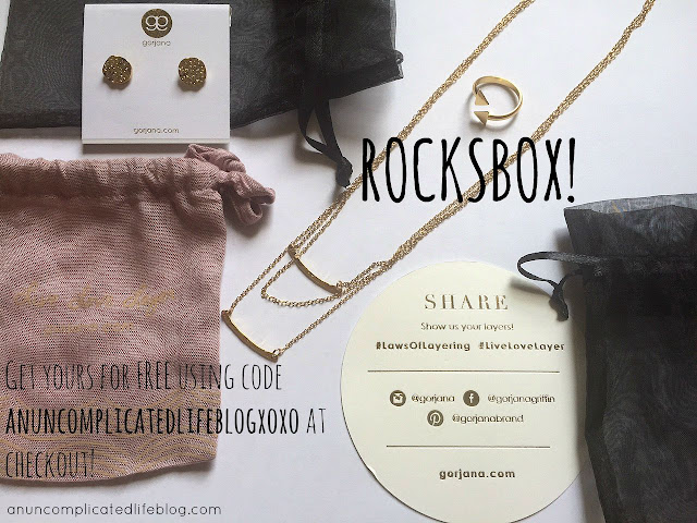 Get monthly jewelry sent to your home from #Rocksbox, a monthly jewelry subscription box