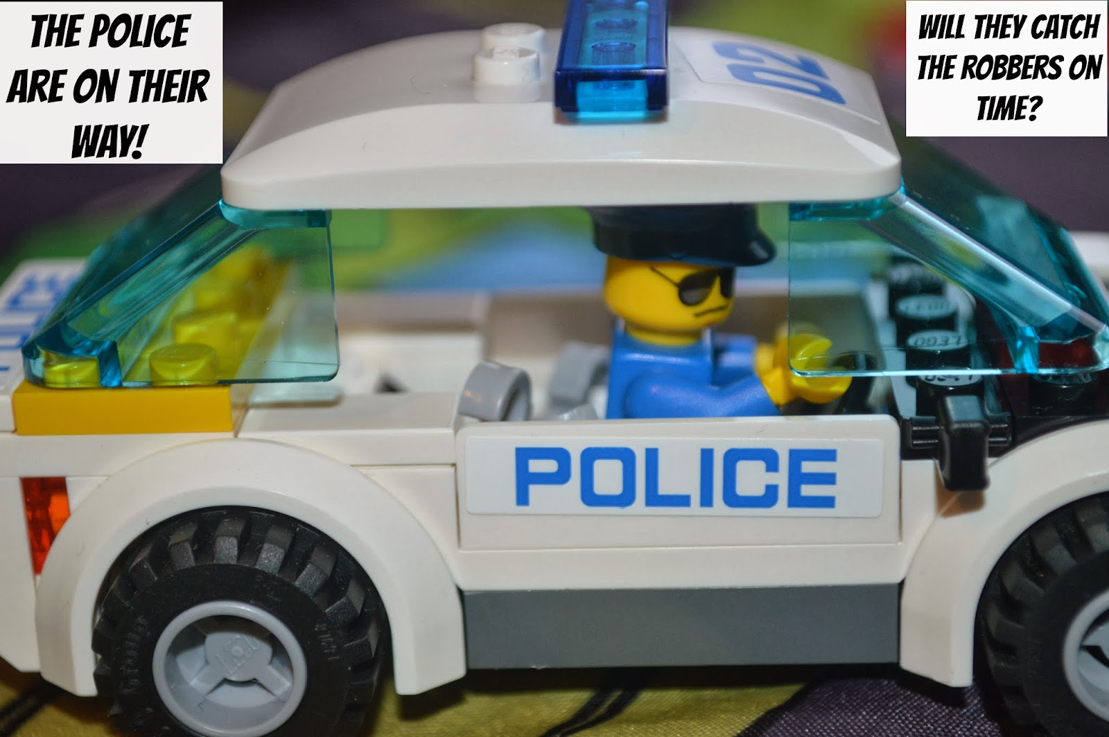 , Carcraft Lego High Speed Police Chase