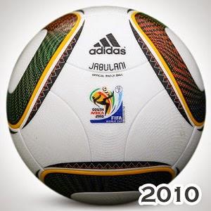 Balón Mundial Sudáfrica 2010 jabulani