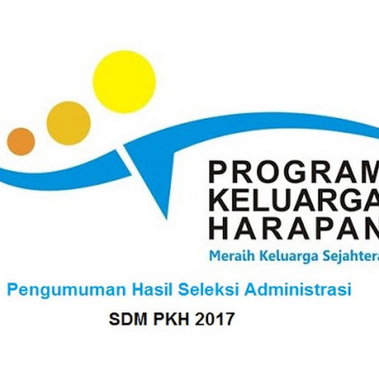 Seleksi Komptensi Bidang SDM PKH 2017